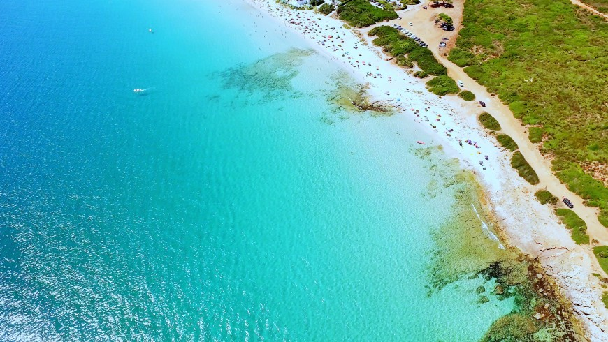 Bombarde beach, Alghero