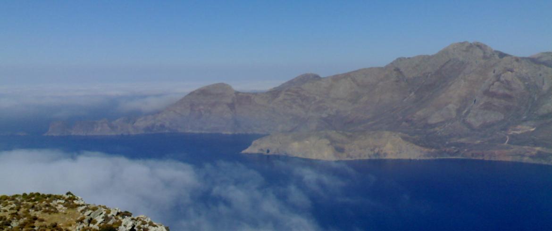 view over Tilos