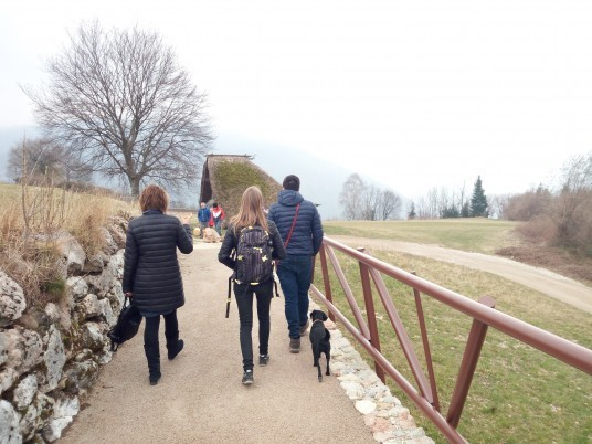 Itinerary toward Bostel di Rotzo