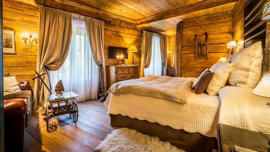 Room of Bragard hotel, ecohotel in Limone Piemonte