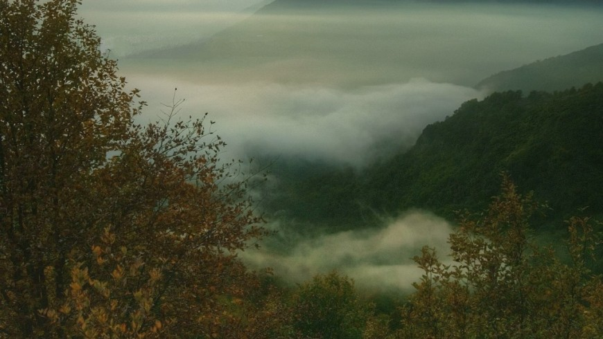 Ligurian mountains high route