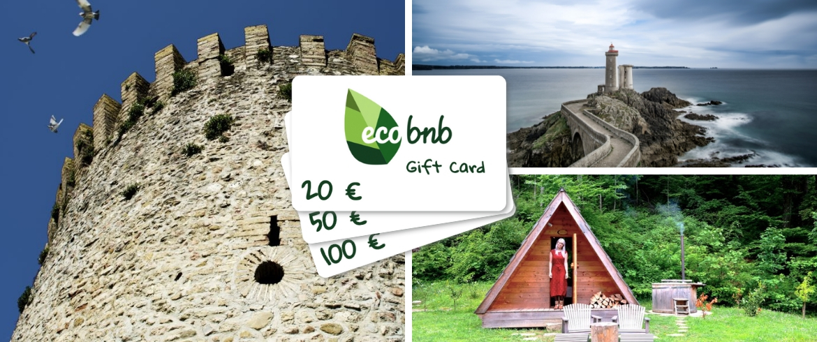 An old castle, a lighthouse or a glamping: eco-accommodations in Ecobnb