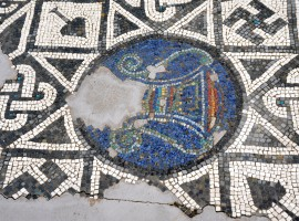 Mosaic in Altino, photo via wikimedia