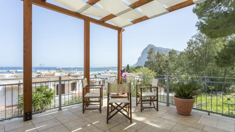 Auralba's panoramic terrace, Western Sicily