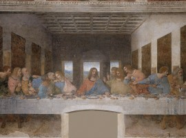painting of the last supper by leonardo