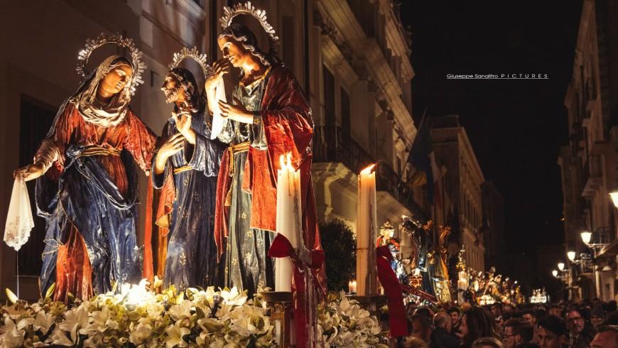 The ancient Processione dei Misteri
