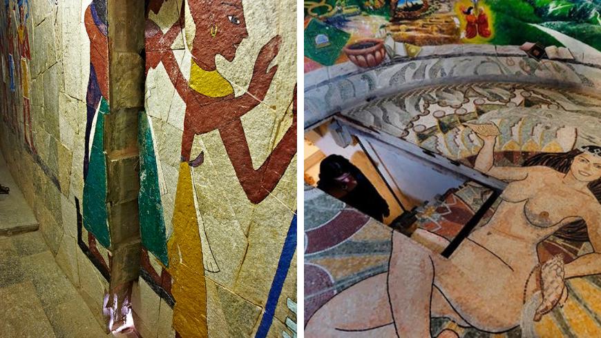 Secret passages in the Temples of Damanhur