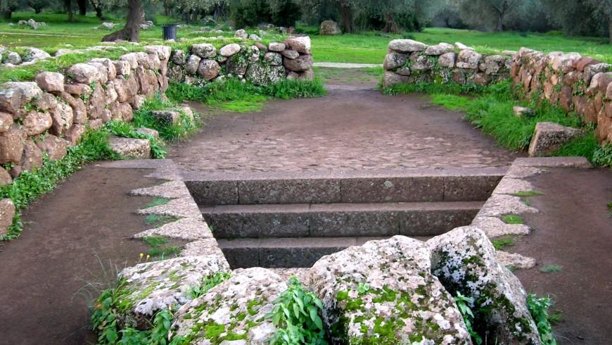 Santa Cristina pit (Oristano)