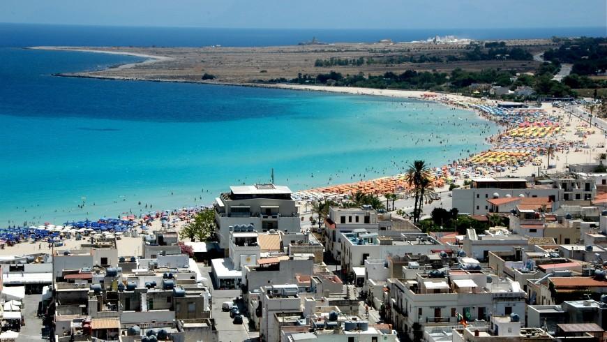 San Vito Lo Capo view, Western Sicily