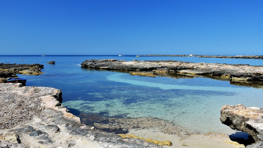 Western Sicily's enchanting sea