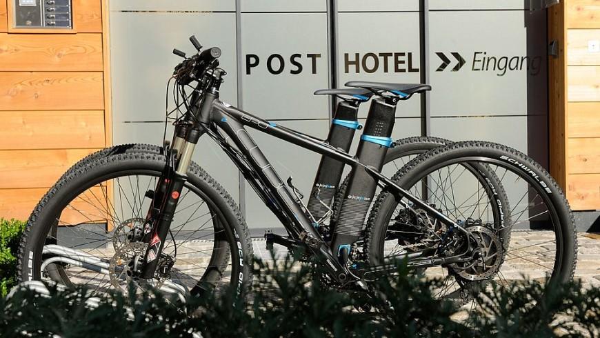 e-bikes in the DasPosthotel, ecobnb in Tyrol