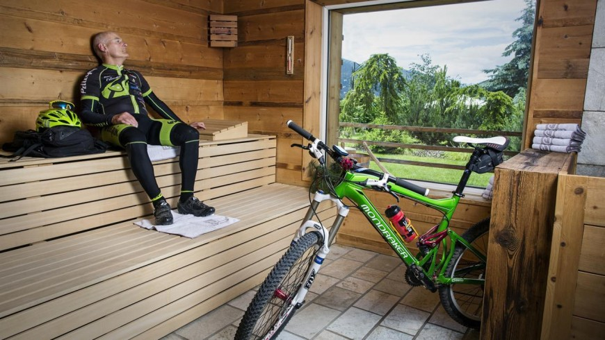ebike at the Active Hotel Olympics, ecobnb in Val di Fassa