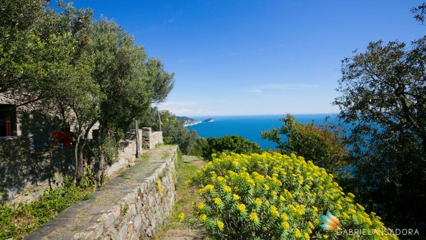 An eco-chic cottage near the Cinque Terre
