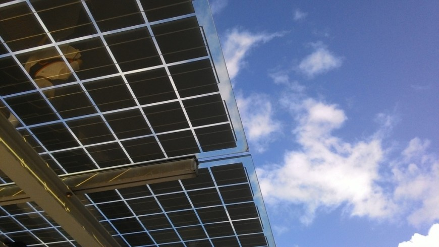 renewable energy from solar panels