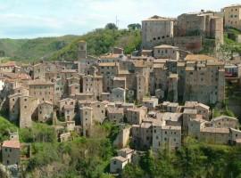 Sorano old village, Tuscany
