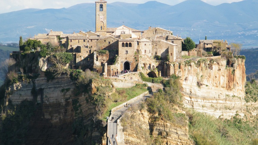 Slow tourism in Italy, Civita di Bagnoregio