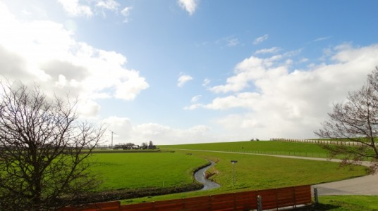 View of the countriside from both guestrooms of Vegotel