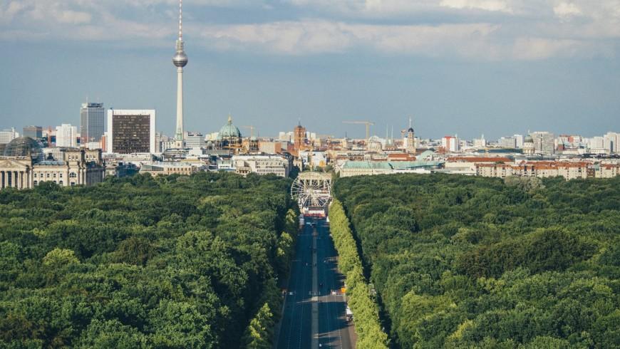 Berlin, Germany, is on of the greenest vegan cities in Europe