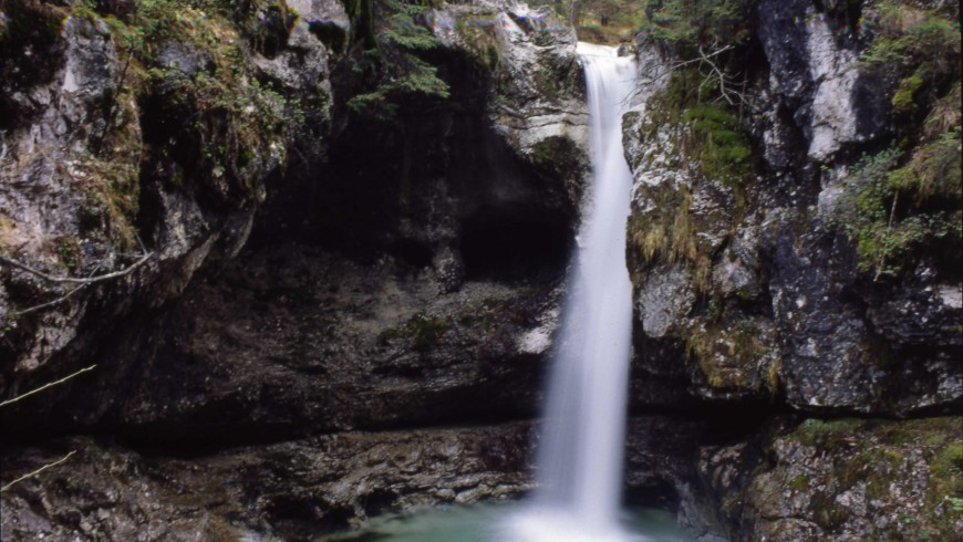 Boion de l'Ors waterfall