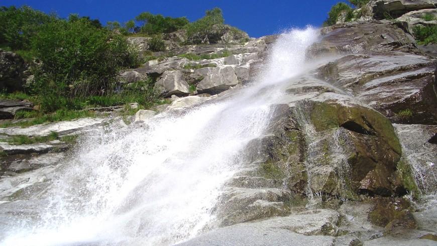 Gabbiolo waterfall