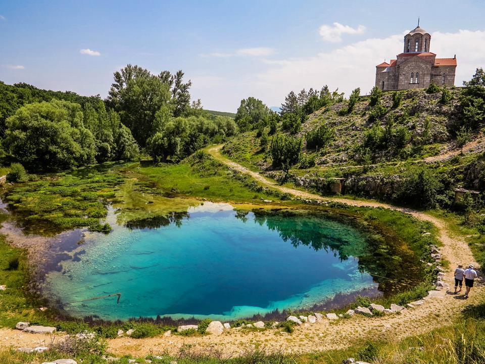 River Cetina natural spring Vrlika