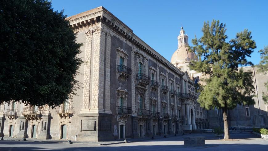 Benedettini Monastery, Catania, facade