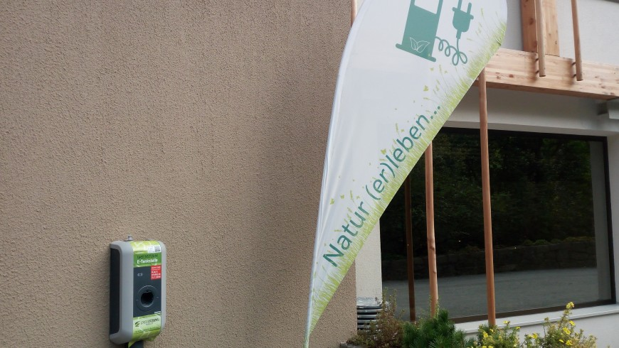 Charging spots at Hotel Rainer, Racines, Alto-Adige