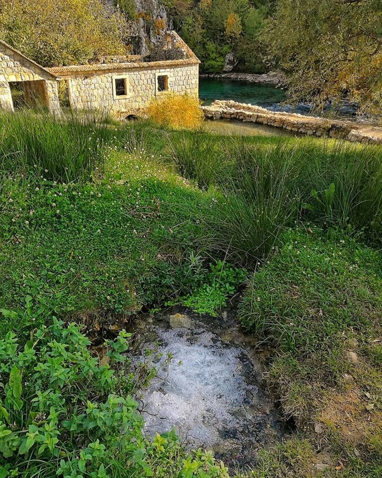 River Ruda natural water spring: one of the most beautiful natural water springs of Croatia
