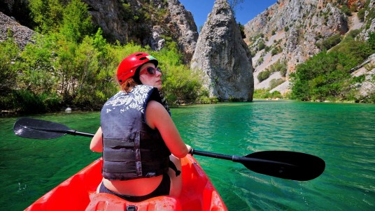Extraordinary experiences Dalmatia - Zrmanja river canyon