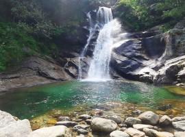 waterfall in Fondo