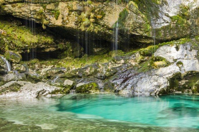 Waterfalls in Slovenia - waterfall Virje
