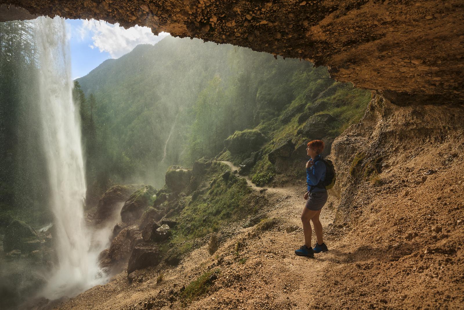 Waterfalls in Slovenia - waterfall Pericnik