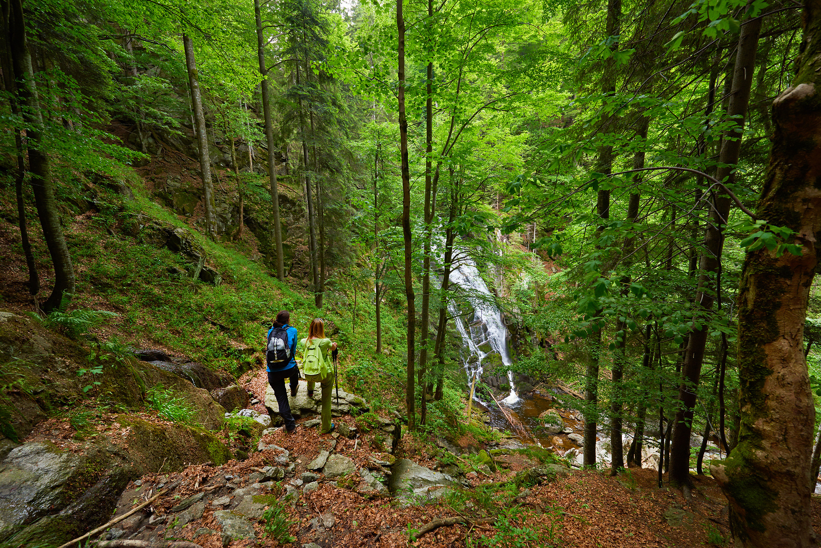Waterfalls in Slovenia - waterfalls Šumik