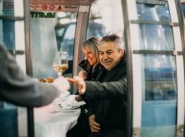 Dinner in cable car - unique experiences in Kranj