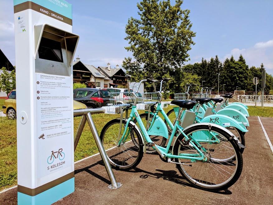 Bike-sharing Kranj