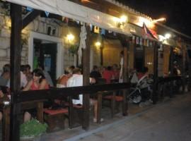 Seafood and local fish in Dalmatia
