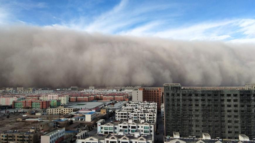 sandstorm in Bejing