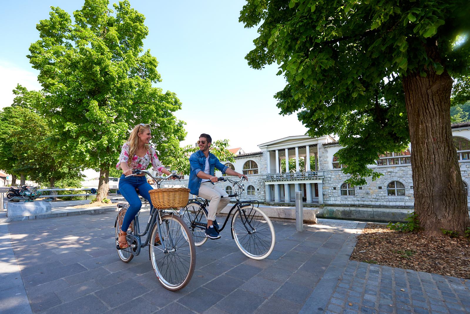 cycling in Ljubljana - Ljubljana green travel guide
