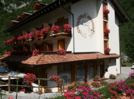 Hotel near Lake Nembia in Adamello Brenta Park