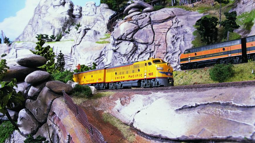 Trains of the Miniatur Wunderland museum