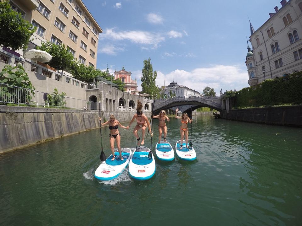 SUP Ljubljana - Ljubljana green travel guide