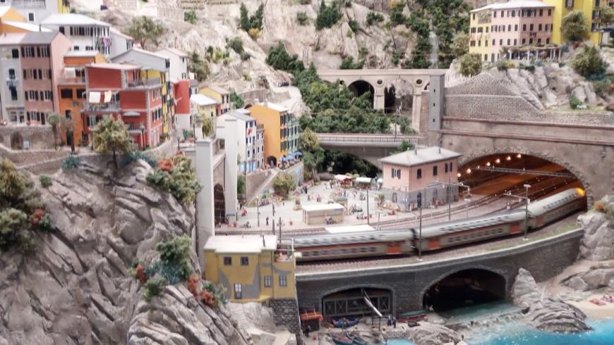 Cinque Terre, Riomaggiore in Miniatura at the Hamburg museum