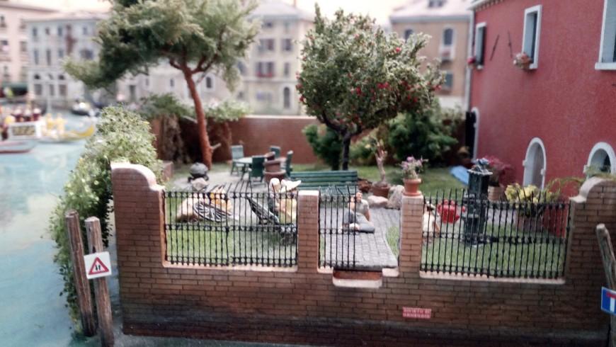 Venice, a green garden among the canals
