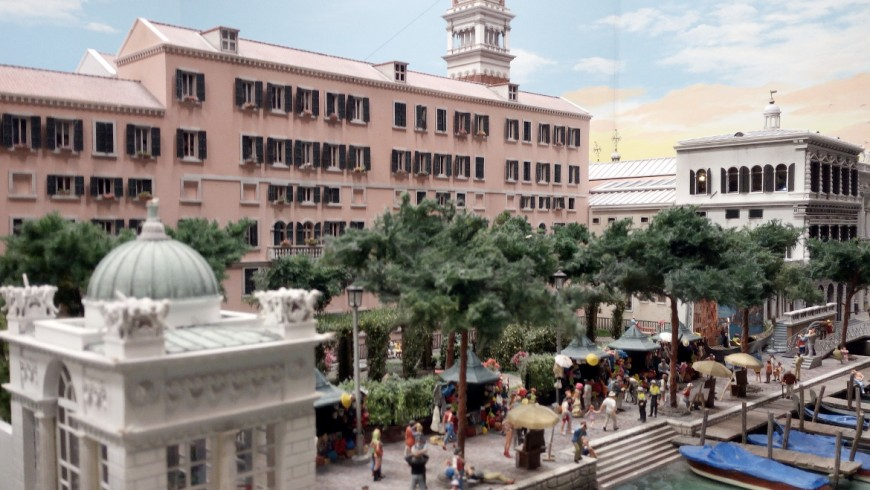 Venice: the canals and gardens of the Biennale, in Miniatur Wunderland