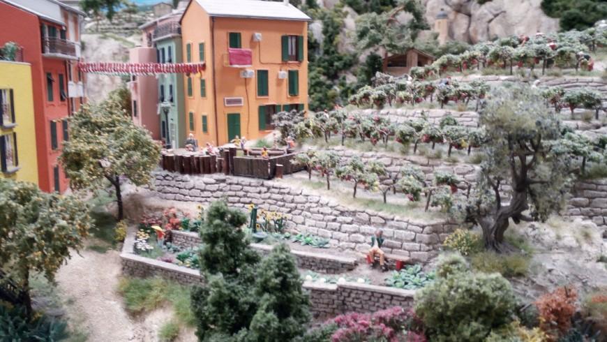 The terraces of Liguria to Miniatur Wunderland