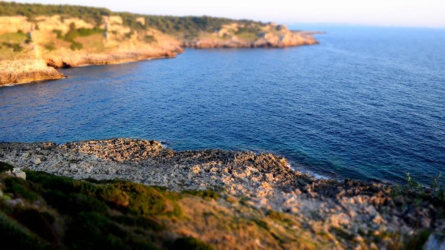 Natural Park of Porto Selvaggio, its beach and cliffs