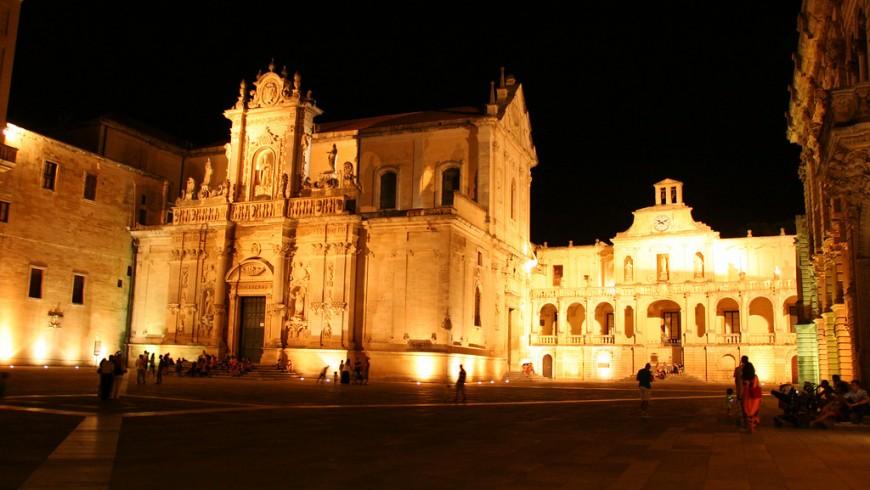 Duomo Square at night