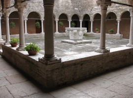 cloister of the Church