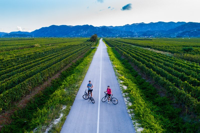 Starsevica valley cycling - hidden gems Dalmatia