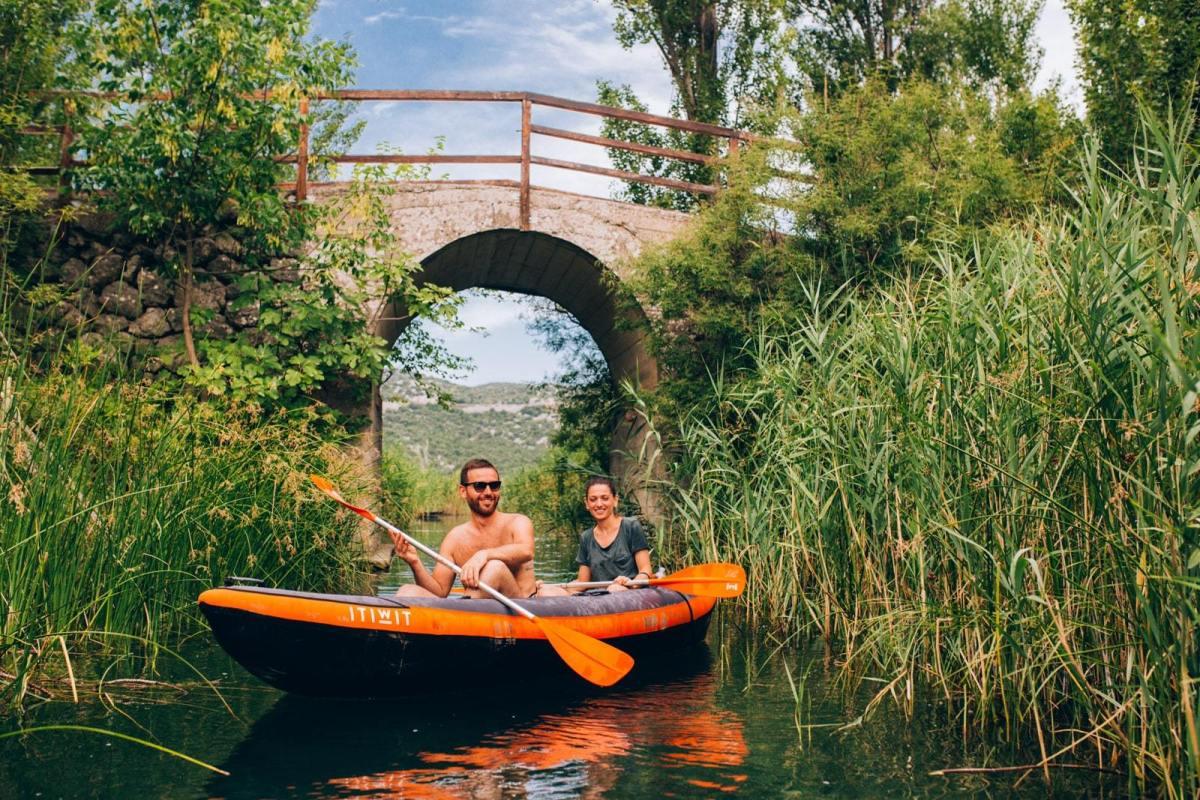 Neretva river kayaking - hidden gems Dalmatia